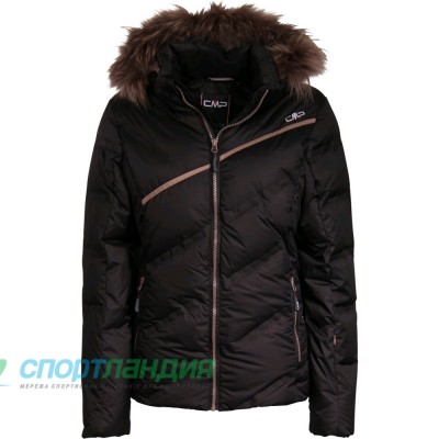 Куртка жіноча CMP WOMAN SKI JACKET ZIP HOOD 3W00446-U901