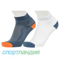 Шкарпетки чоловічі ASICS Ultra Lightweight Quarter 2ppk 3013A268-400