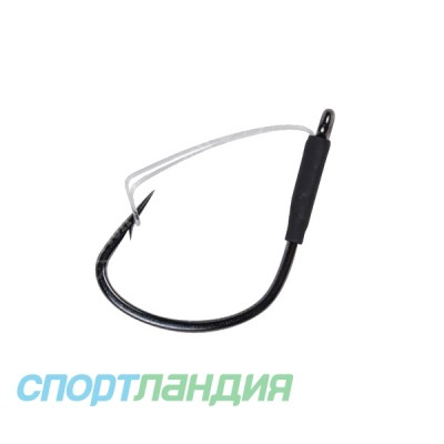 Крючок DECOY Cover Finesse Worm 105 #1/0 Кр. DECOY Fin Worm105 #1/0